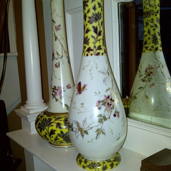 Unmatched Pair - Art Glass