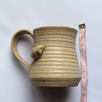 Antique/vintage? Stoneware mug