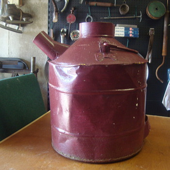 vintage gas jug ????????????????? - Petroliana
