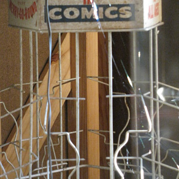 1940 Comic Book Racks - Advertising