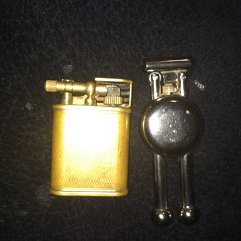Can someone help me recognize these two lighters - Tobacciana