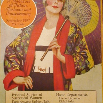 Excella Magazine September 1925 - Paper