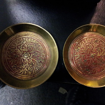 Brass Plates - Asian