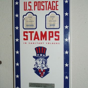 Victory Stamp Machine - Coin Operated