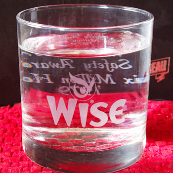 Wise Potato Chip Glasses - Advertising