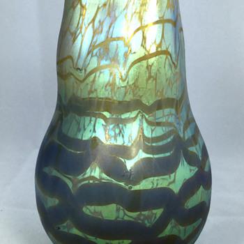 "Loetz ""Maximia"" Vase. 6"" Tall. Circa 1904"
