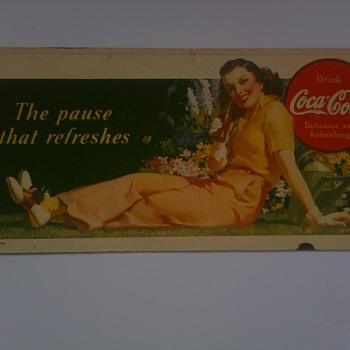Various Coca Cola Blotters - Coca-Cola