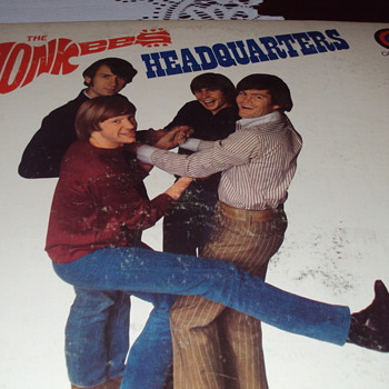 The Monkees Album Cover - Records