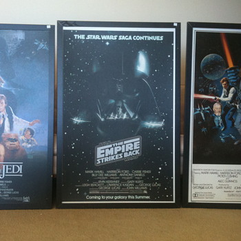Star wars frames posters?