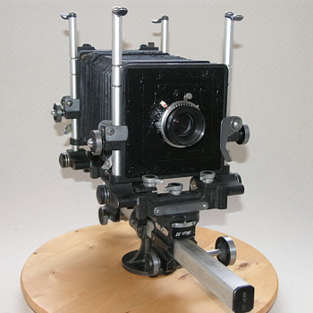 De Vere Ltd. | Monorail Camera | 1948-52 | 5x4. - Cameras