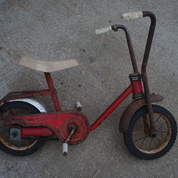 Vintage Kiddie Bike