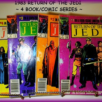 1983 - Set of Four  Comic Books - RETURN OF THE JEDI