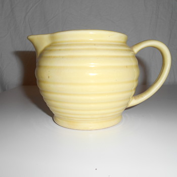 BAUER? RINGWARE?  UNMARKED CREAM PITCHER...