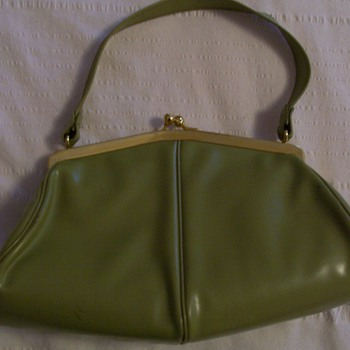 avocado green purse