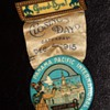 1915 Participant and Last Day Medals and ticket to the Panama Pacific International Exposition in San Francisco