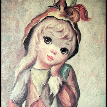 "HARLEQUIN GIRL by "" MAIO """
