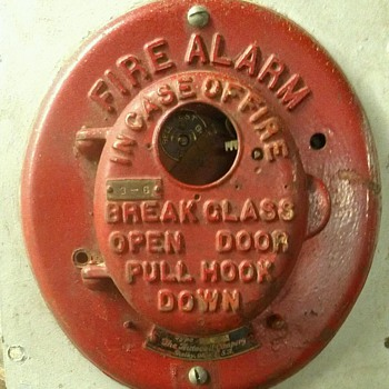 Autocall fire alarm box - Firefighting