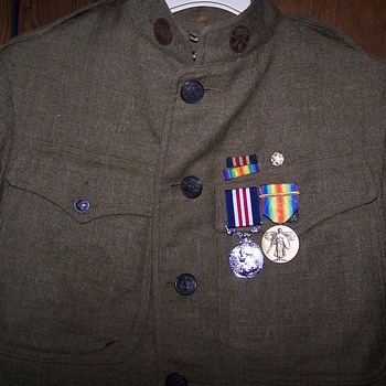 Grandfather's WWI Uniform Jacket - Military and Wartime