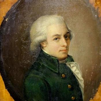Wolfgang Amadeus Mozart ( Johann Heinrich Wilhelm Tischbein) - Visual Art