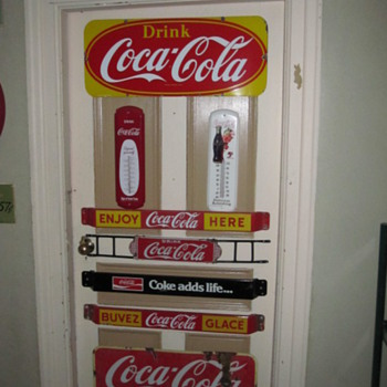 1928 Coca Cola Door Push