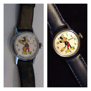Restored beauty: Ingersoll 50's Mickey Mouse Watch #01 - Wristwatches