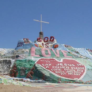 Salvation Island Salton Sea Roadside Attraction