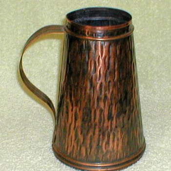 Antiqued Copper Tankard - Breweriana