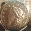 1854 kellogg &amp; co coin