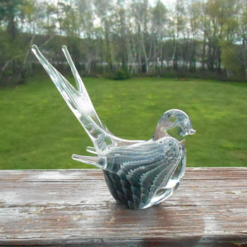 Art Glass Bird