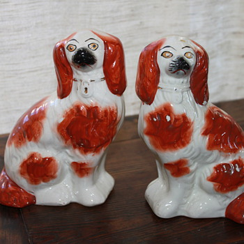 staffordshire dogs, Fake or Fantastic? - Art Pottery