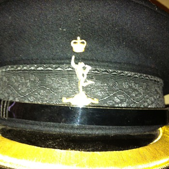 Royal Corps of Signals senior officer dress hat