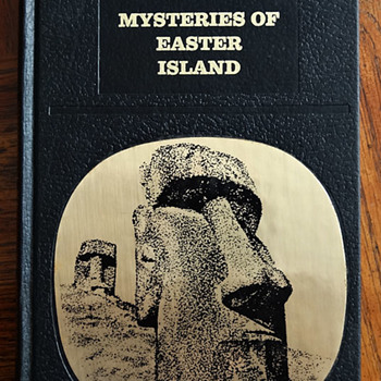 Mysteries of Easter Island by Francis Maziere, Laffont edition - Books