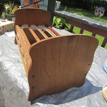 Old Cradle from New England that I shabbied for my grandaughter - Furniture