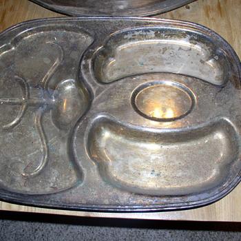 silver  platters  - Sterling Silver