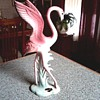 "Brad Keeler Artware ""Flamingo"" Figurine / Hand Painted California Pottery / Circa 1940"