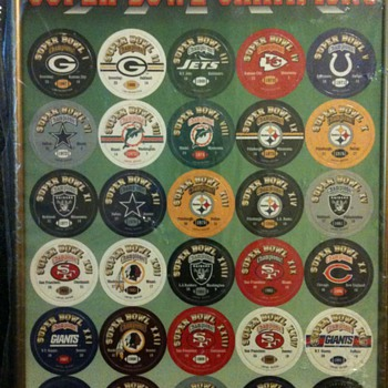 Super Bowl Commemorative Milkcaps-Super Bowl Champions I-XXVIII - Football