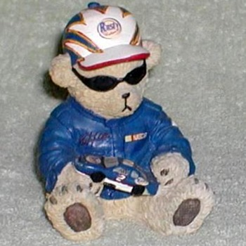 "NASCAR ""Rusty Wallace"" Racer Bear"