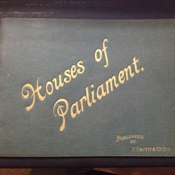 Houses of Parliament published by F. Frith & Co. Ltd. unknown year?? - Photographs