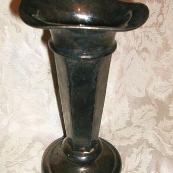 ( Silver ) Trumpet Vase - ??? - Sterling Silver