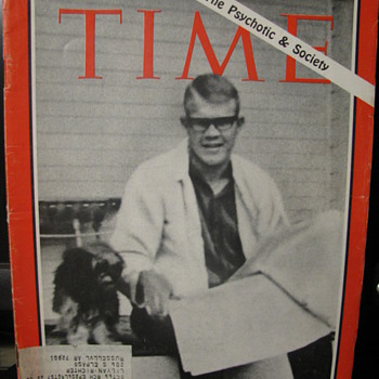 Time Magazine August 12, 1966 - Paper