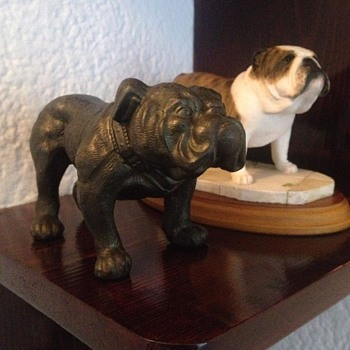 vintage bulldog  - Animals