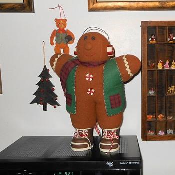 Plush Ginger Bread Man - Christmas