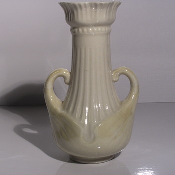 "Belleek Pottery (Irish), Delicate vase with Handle"" After 1946 to 1980"