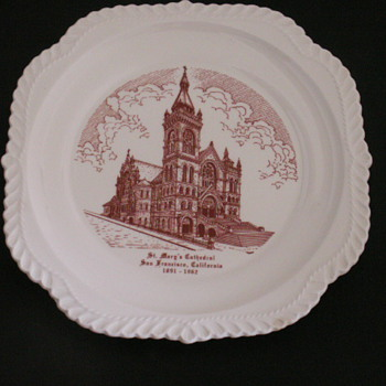 Church Plate, San Francisco, CA. - China and Dinnerware