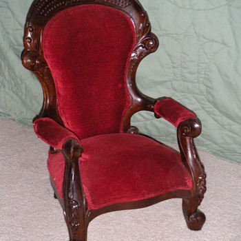Child's victorian chair - Victorian Era