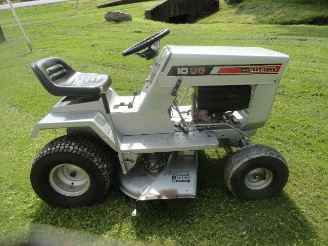 Old Sears 10 Hp Tractors : Sears craftsman lt riding mower collectors