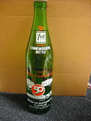 7up 50 Year Commemorative Unopened Bottle Collectors Weekly