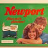 1989 Newport Cigarettes Metal Sign…..
