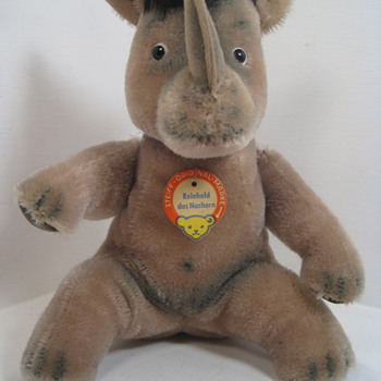 Steiff's Crazy and Wonderful Reinhold the Rhinoceros - Dolls