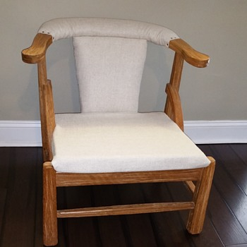 Antique mid century modern chair